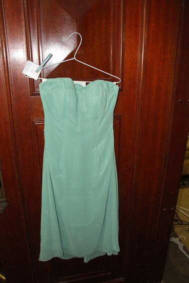 = Roupa Lote 575 Mulher Vestido De Festa Verde Tomara Caia