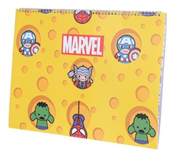 Caderno A3 Vingadores Miniso - Marvel