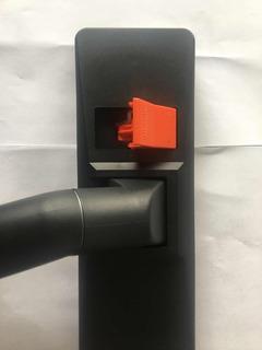 Accesorio Aspiradora Alfombras Pisos Duros Botón Naranja D32