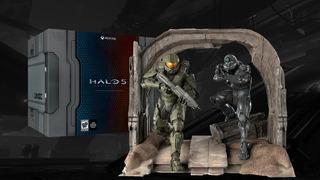 Figura Maqueta Halo 5 Edicion Coleccionista Impecable