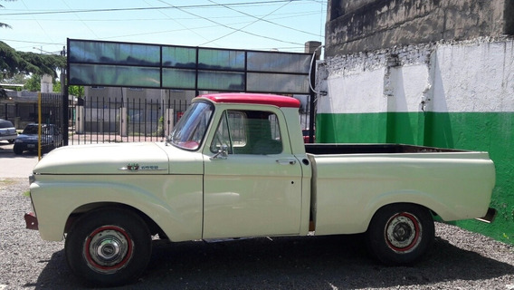 Ford F-100 F100 V8 F2 Twin Beam