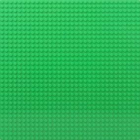 Placa Base Verde 32 X 32 Pontos Compatível Com Lego