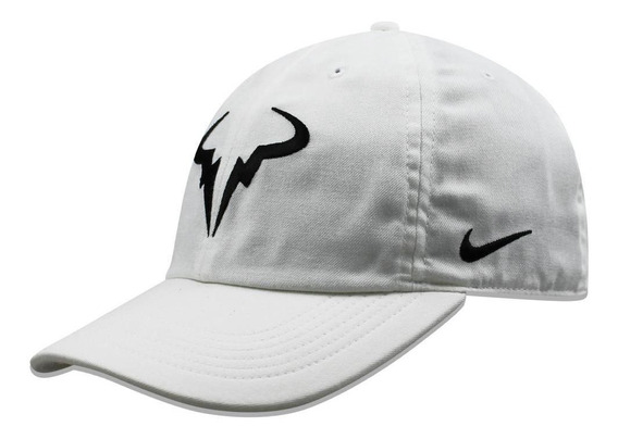 Gorra Nike Curva Rafa U Arobill H86 Blanco