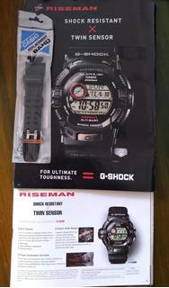 Correa Original Casio® G Shock Riseman G-9200/ Gw-9200 Nueva