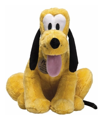 Pelúcia Disney Pluto 35cm - Turma Do Mickey - Fun Original