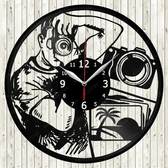 Reloj Corte Laser 2684 Fotografía Fotografo Camara Y Foto En