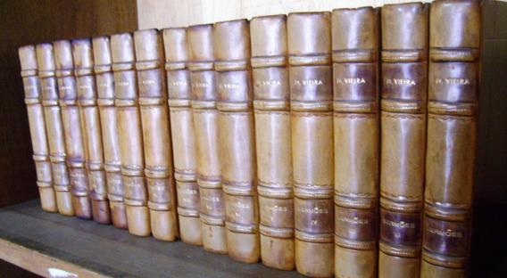 Livro - Coleção Sermões Do Padre Antonio Vieira 15 Volumes