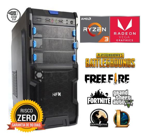 Cpu Gamer Barata Ryzen 3 3200g 8gb Ssd120 Radeon Vega8
