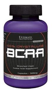 Bcaa 500mg 60 Cápsulas - Ultimate Nutrition
