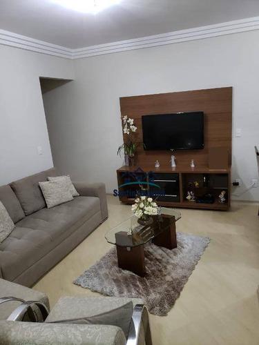 Apartamento Com 3 Dormitórios À Venda, 68 M² Por R$ 330.000,00 - Rudge Ramos - São Bernardo Do Campo/sp - Ap1822