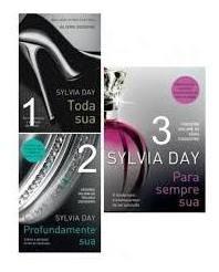 Livro Trilogia Crossfire - 3 Volumes Sylvia Day