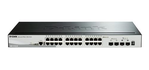 Switch D-link Ethernet Dgs-1510-28 24 Portas Giga+4sfp 1000m