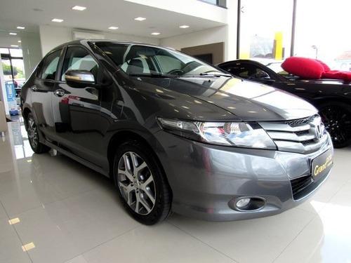 Honda City 2010 1.5 Exl 16v Flex 4p Automático Cinza Compl