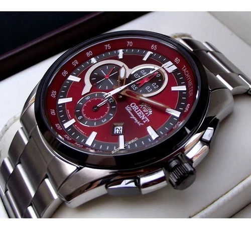 Reloj Orient Caballero Ett13001h0 Original