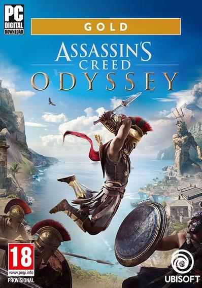 Assassins Creed Odyssey Pc (mídia Física)