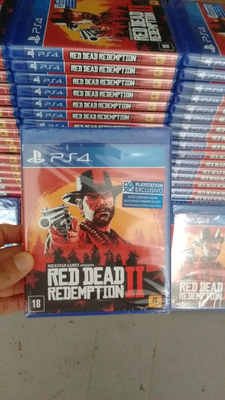 Red Dead Redemption 2 Ps4 Lacrado Midia Fisica
