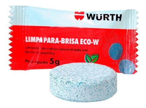 Imagem 1 de 3 de Limpador Para-brisa Em Pastilha Eco - Wurth 5g ( 1 Unidade )