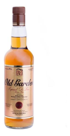 Licor Seco De Whisky Old Garden Botella 0,70lts 700ml Cln