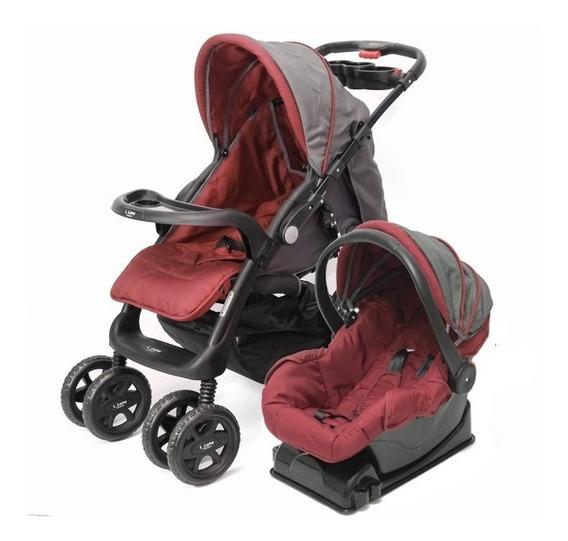 Coche Cuna Bebé Lero Plus+ Huevito Base Auto Rebatible Envio