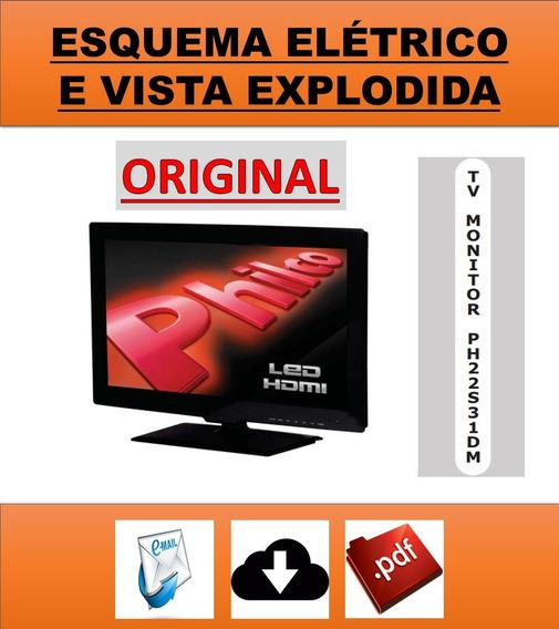 Esquema Elétrico Tv Philco Ph22s31dm Led