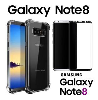 Capa Case Para Samsung Galaxy Note 8 + Película Brinde Sm-n-950f N950fd Capinha + Película Para Galaxy Note 8