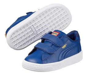 Puma Jl Superman Basket V Inf Lapis Blue 364003 01 Bebe