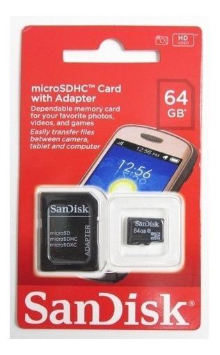 Cartão Micro Sd 64gb Sandisk