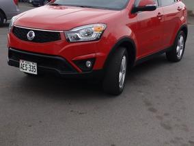 Vendo Camioneta Ssangyong New Korando Año 2015 Full Equipo