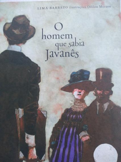 Livro - O Homem Que Sabia Javanês - Lima Barreto