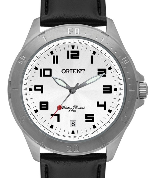 Relógio Orient Masculino Couro Mbsc1032 S2px