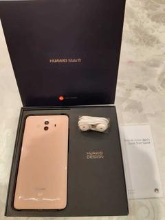 Huawei Mate 10 Tapa Rosa Perla 64gb Leica Dual Cam