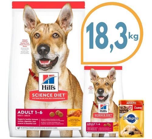 Comida Perro Hills Original Usa 16 + 2,3 Kg + Regalo + Envío