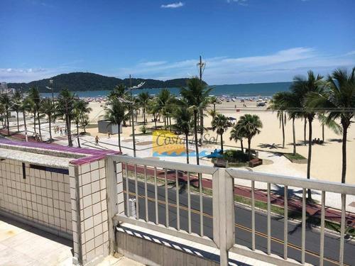 Cobertura Com 4 Dormitórios À Venda, 100 M² Por R$ 600.000,00 - Vila Guilhermina - Praia Grande/sp - Co0056