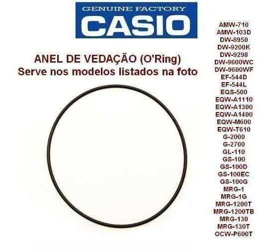 Anel De Vedação Casio Aw-710 Mrg-1 Gs-100 E Varios Modelos