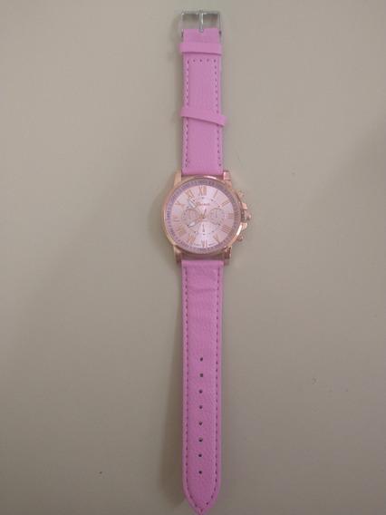 Relógio Feminino De Luxo Geneva