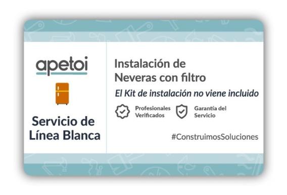Instalación De Neveras Con Filtro