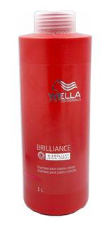 Shampoo Para Cabello Teñido Brilliance Wella 1 Litro