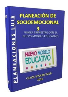 Planeación Socioemocional Y Tutoria 3