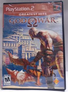 God Of War I. Ps2 Original Con Estuche Y Manual