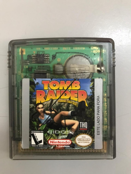 Jogo Tomb Raider Game Boy Color