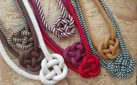 Colar Cordas Coloridos E Personalizados