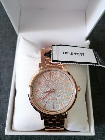 Reloj Oro Rosa Nine West