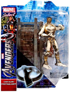 Marvel Select - Chitauri Footsoldier - Avengers - Original