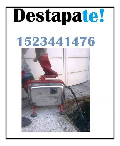Destapaciones Cloacales En Villa Pueyrredon