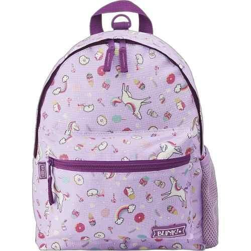 Full* Mochila Escolar Infantil Unicornio De Costas Pp Blink