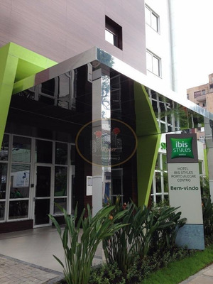 Hotel Ibis Styles Porto Alegre Centro I Hotel Comercial À Venda, Bom Fim, Porto Alegre. - Codigo: Ho0001 - Ho0001