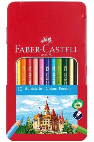 Lapices Faber Castell Ecolapiz X12 Lata