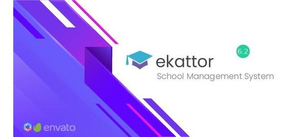 Ekattor +inst Sistema De Gestão Escolar 6.1 + Brinde