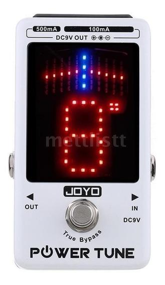 Pedal Afinador E Fonte Joyo Jf-18 Power Tune - Envio Em 24h