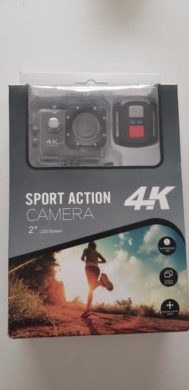 Câmera De Ação Action Cam 4k Sports A Prova D